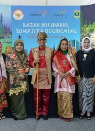 KBRI Madrid Bazar Soledario Sumatera