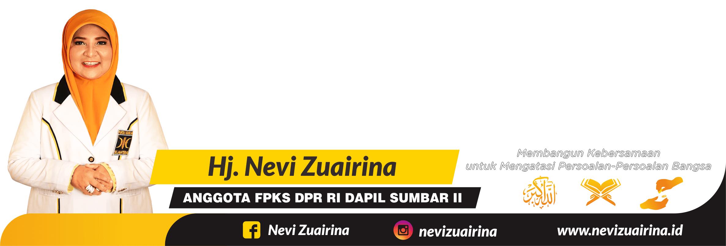 Hj. Nevi Zuairina - Anggota DPR RI Fraksi PKS Dapil Sumbar II