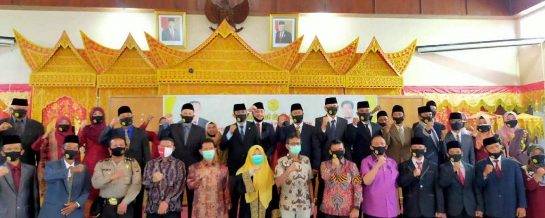 Legislator Hadir Pelantikan PKPS (Perkumpulan Keluarga Pesisir Selatan) di Istana Bung Hatta